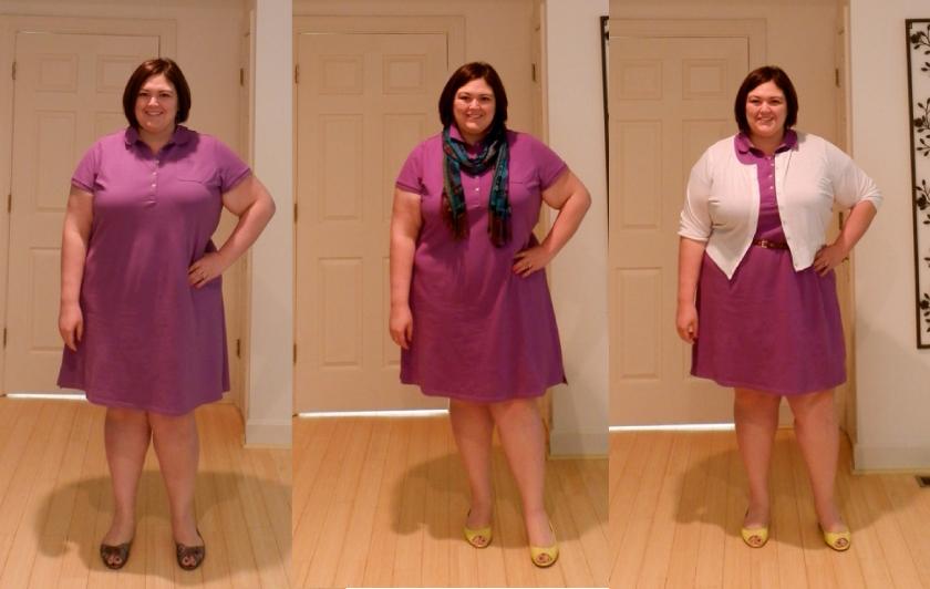Lands\' End Plus Size Polo Dress