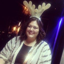 I decide reindeer antlers are a good thing (when paired with sequins, of course)