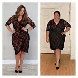 Gigi Lace Dress from Kiyonna (Plus Size)