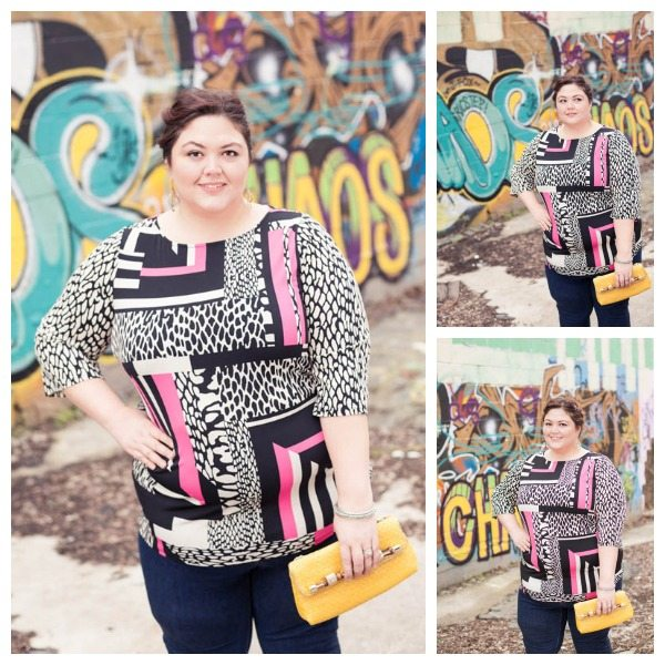 INC plus size tunic