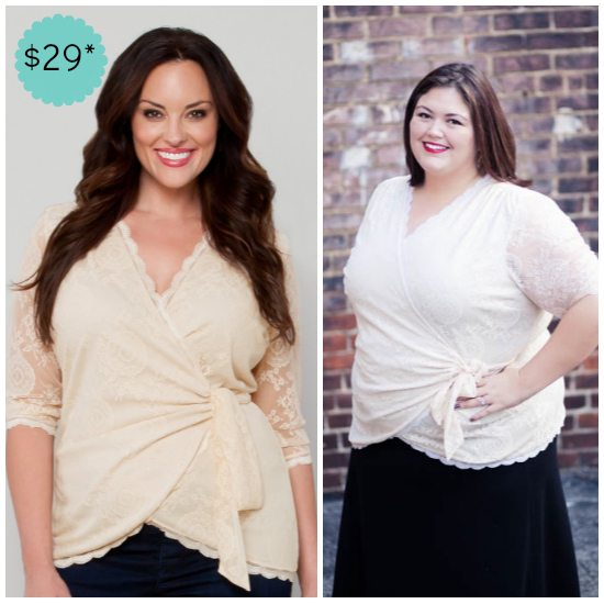 Juliet Wrap Top