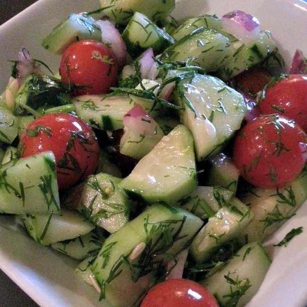 Cucumber Dill Salad Recipes — Dishmaps