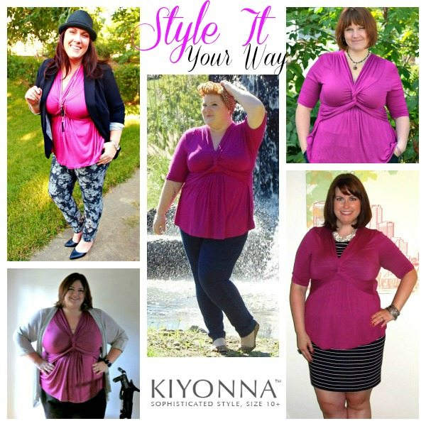 Kiyonna Style it Your Way