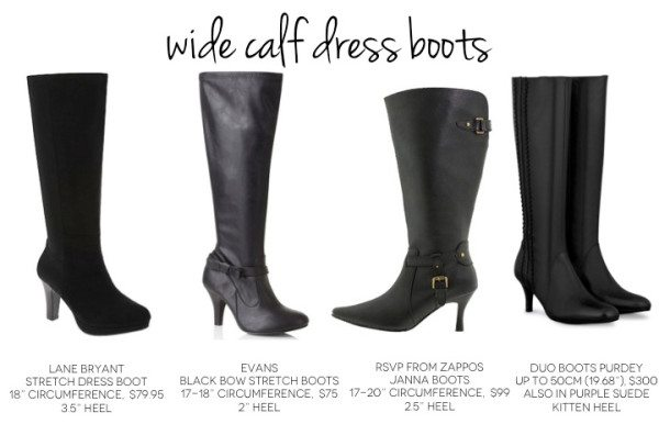 Fashion Boots For Wide Calves
