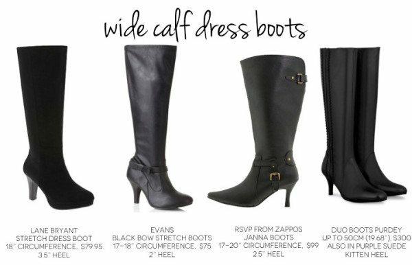 Wide Calf Boots - Price Comparison