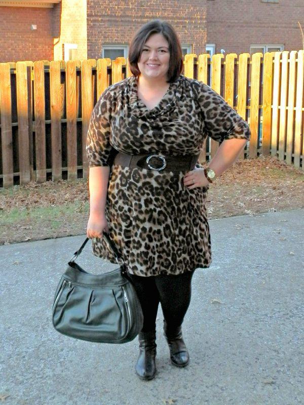Authentically Emmie in Jessica Howard dress from Gwynnie Bee