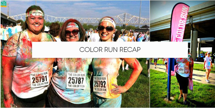 The Color Run Recap