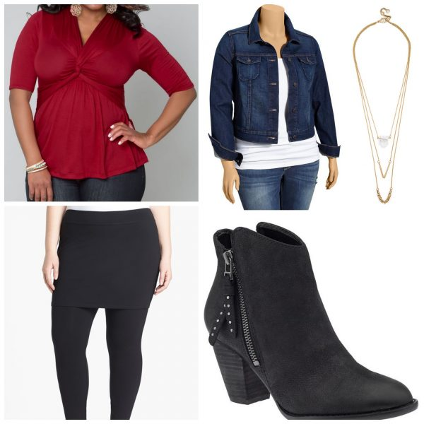 Style the Caycee Twist Top from Kiyonna