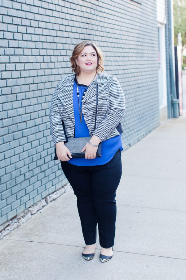 Layered fall look from Lane Bryant