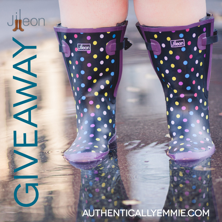 Wide Calf Rain Boot Giveaway from Jileon