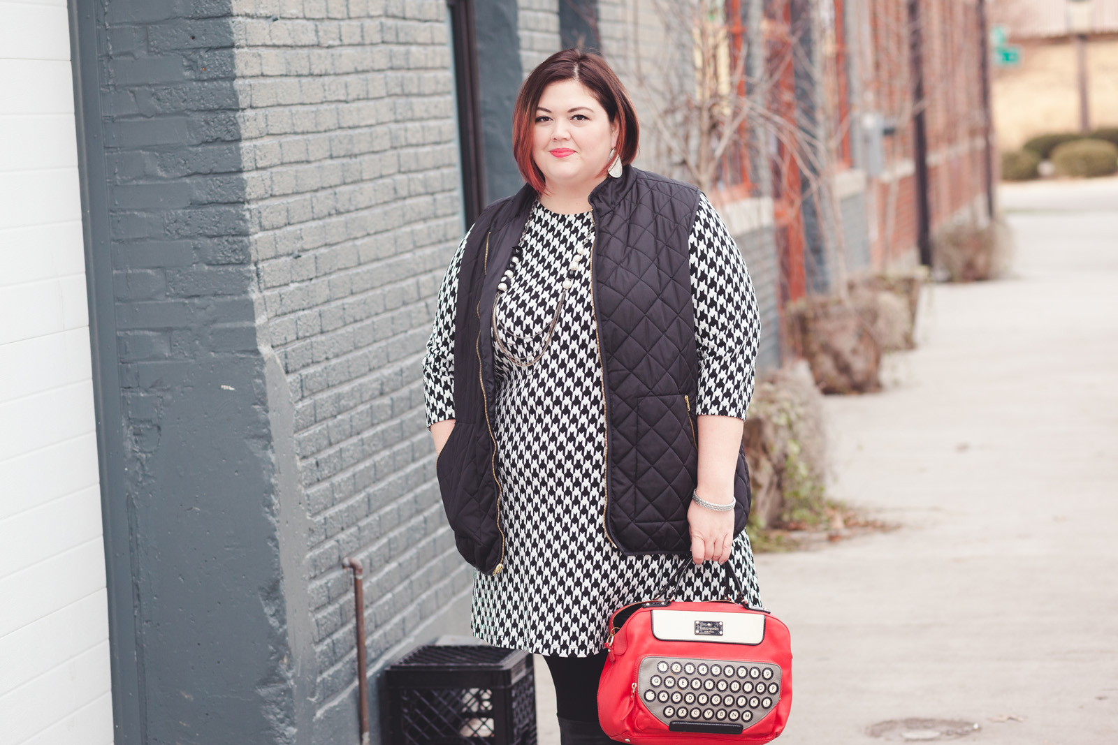 Plus Size Fashion Gwynnie Bee Dress And Quilted Vest