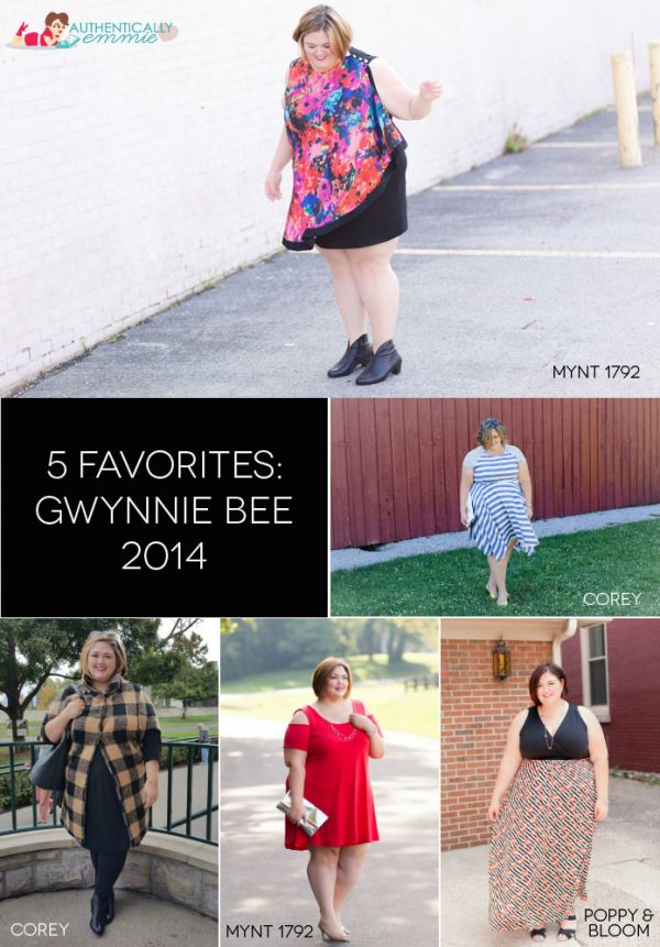 5 Favorite Gwynnie Bee Looks of 2014