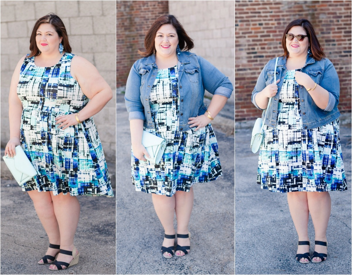 Spring Plus Size Style from Kohls