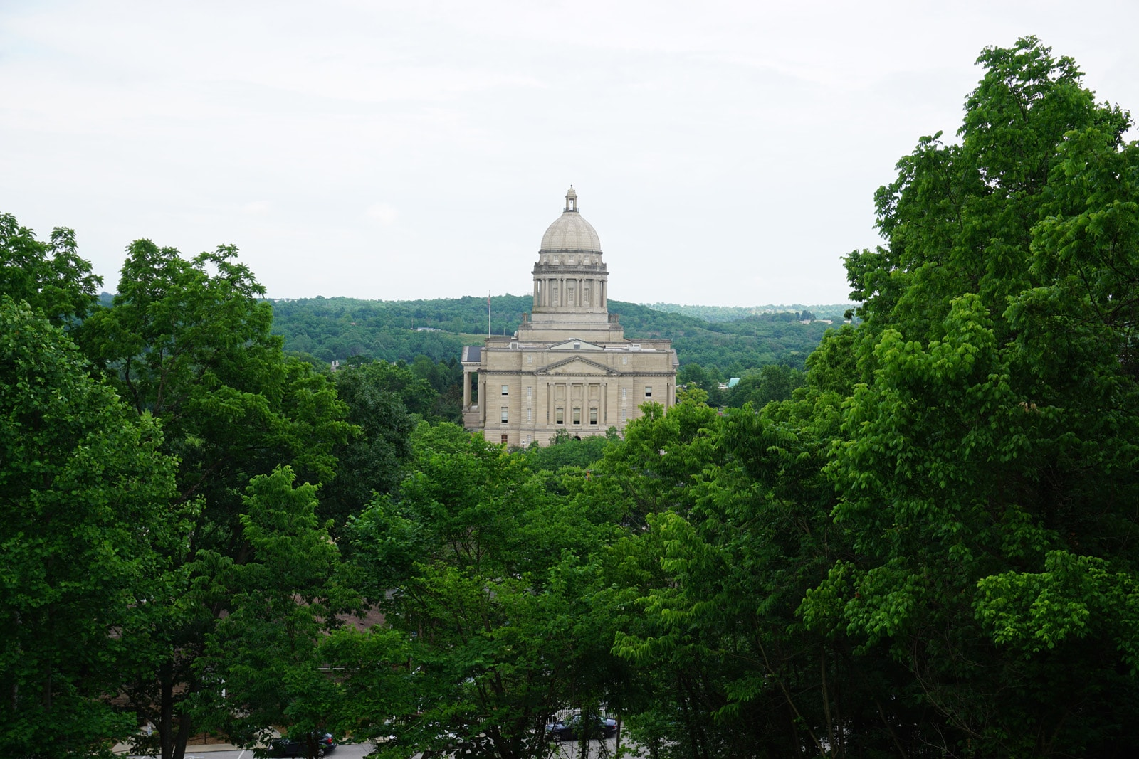 Frankfort, KY Capitol Building