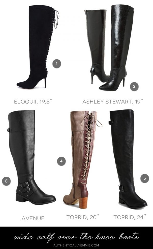 Wide Calf Over-The-Knee Boots