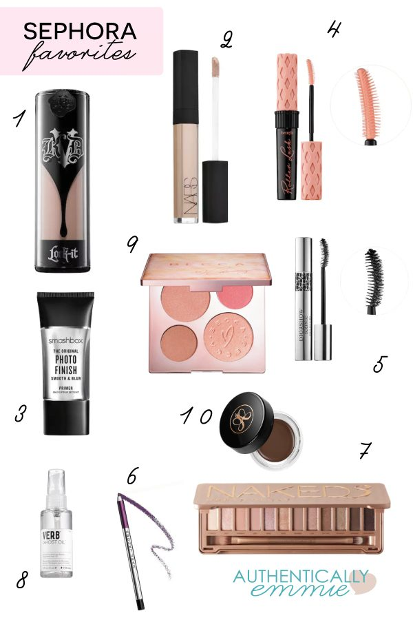 Favorite Sephora Products