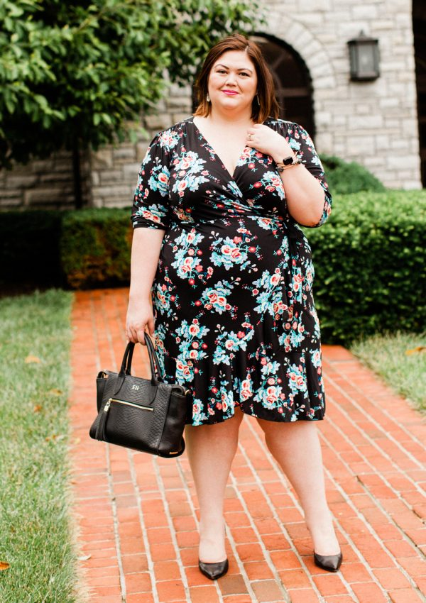 My Style Favorites – Florals and Wrap Dresses