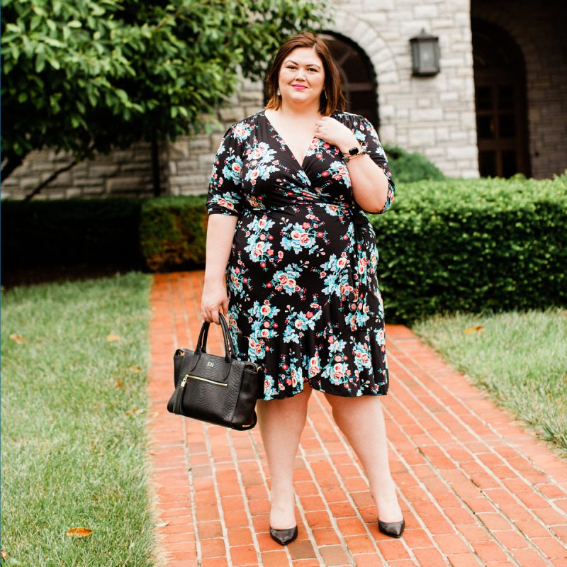 Best plus size wrap dress