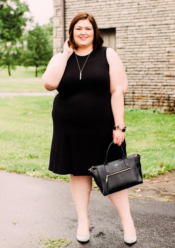My favorite plus size little black dress