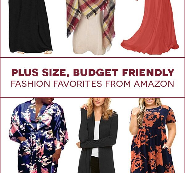 affordable plus size fashion from Amazon