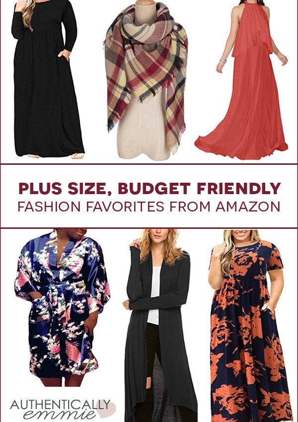 Affordable Plus Size Fashion Finds from Amazon