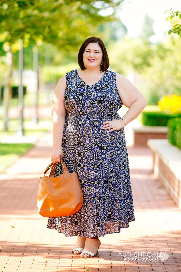 Plus size fashion blogger Authentically Emmie shares some of her favorite NY Collection pieces from Macy's. #plussize #fashion #ootd