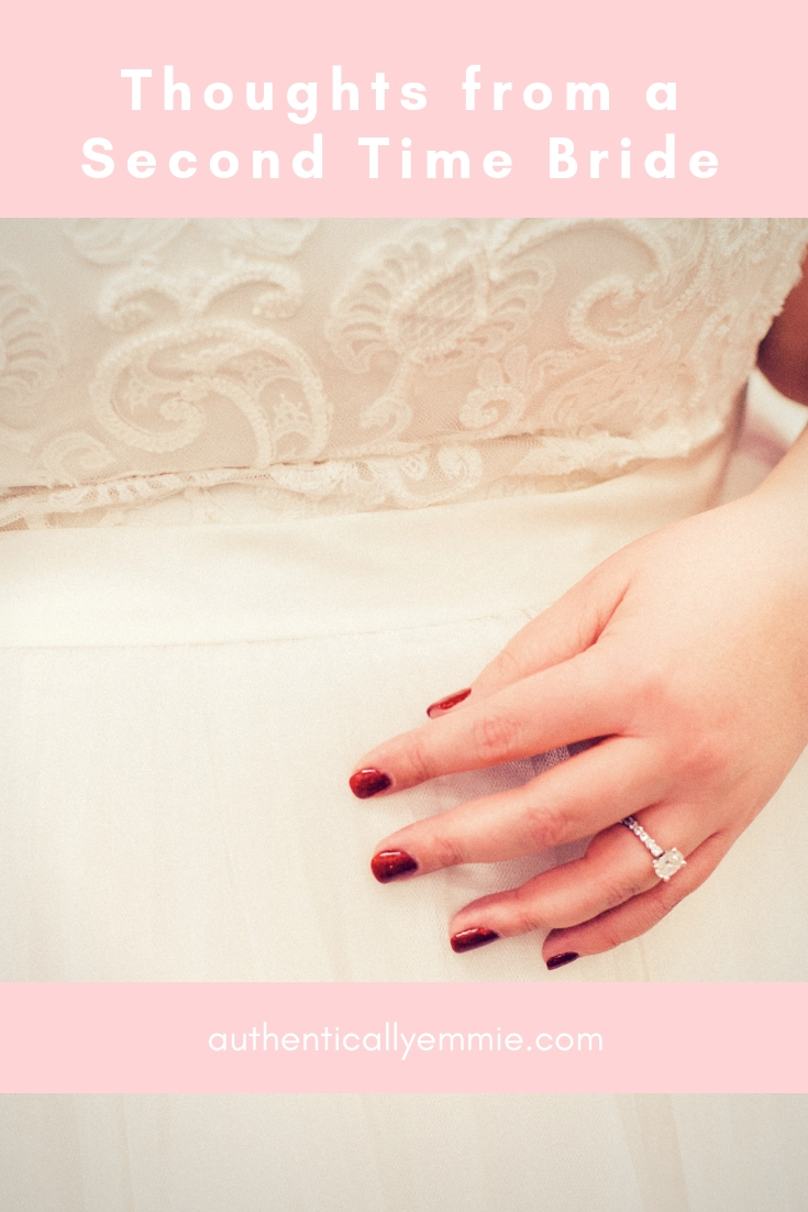 Thoughts of a Second Time Bride