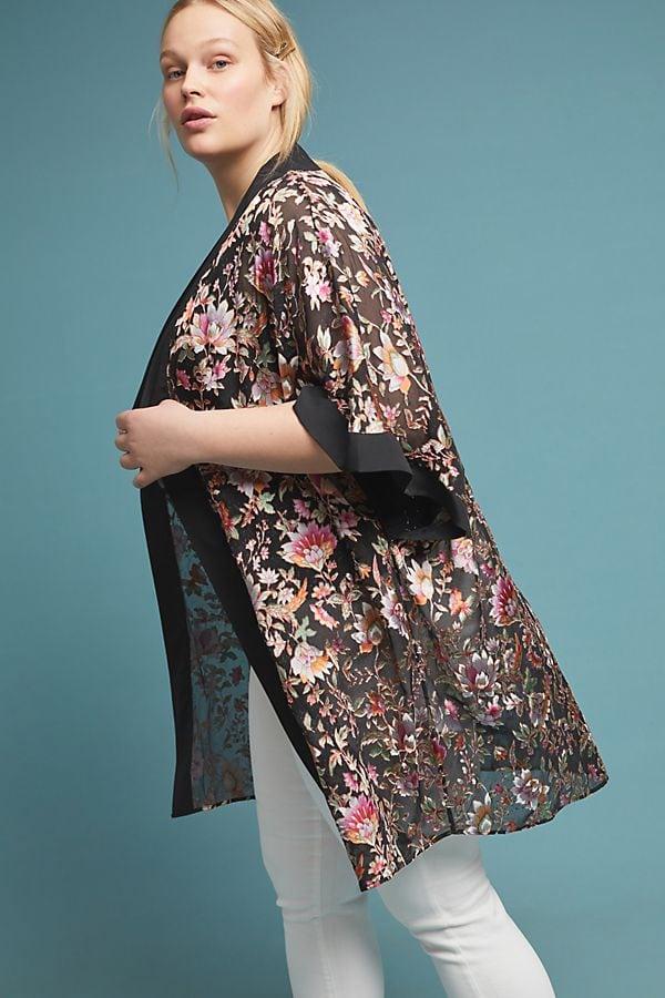 Anthropologie plus size kimono