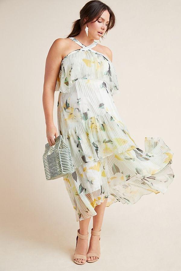 Anthropologie plus size dress