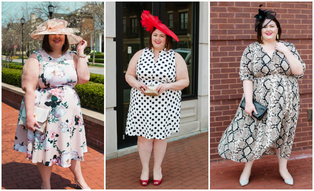 b877f3c766 Plus Size Kentucky Derby and Oaks Style