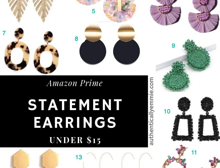 15 Statement Earrings Under $15 at Amazon