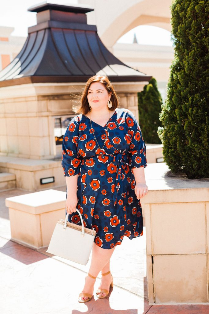 Plus size eShakti dress review