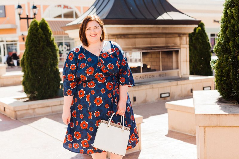 eShakti plus size dress