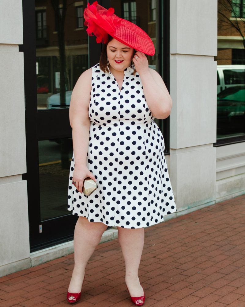 Plus size Kentucky Derby outfit idea