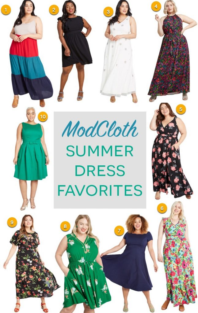 ModCloth Summer Dresses - plus size items on sale