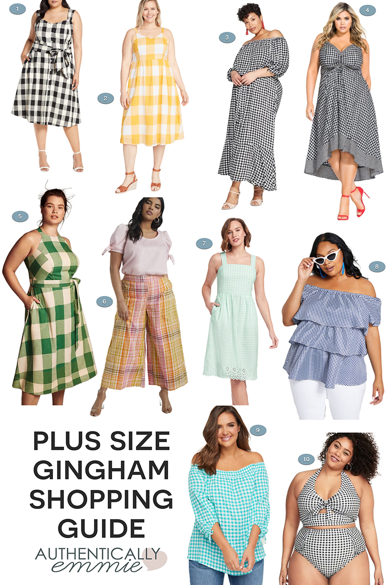 Plus Size Gingham Guide