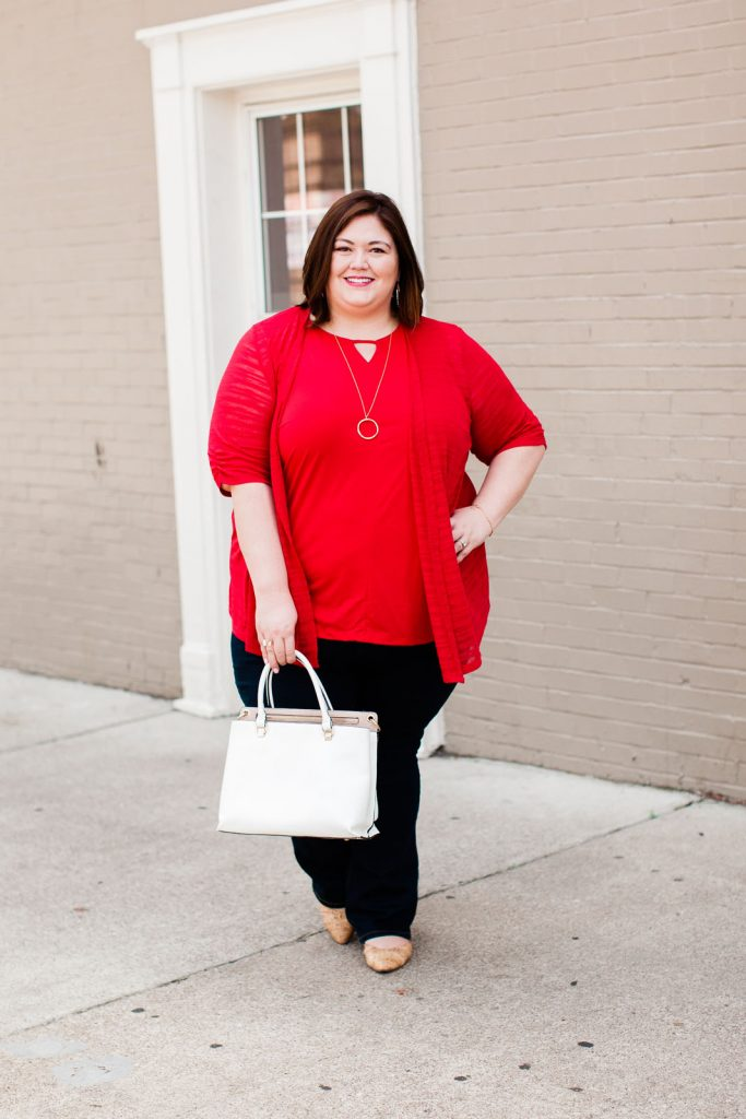 Plus size casual outfit idea from Catherines