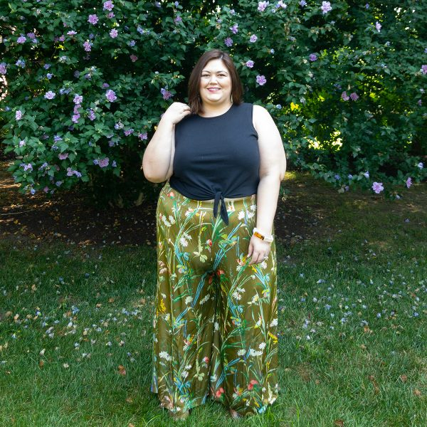 Anthropologie plus size outfit