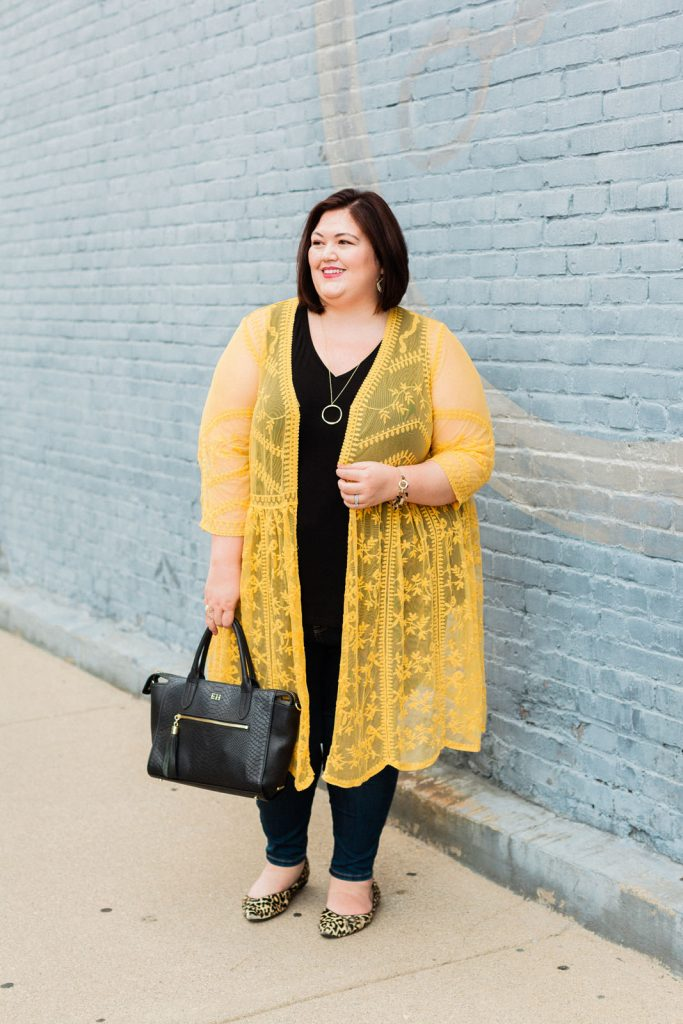 A casual outfit from Lane Bryant