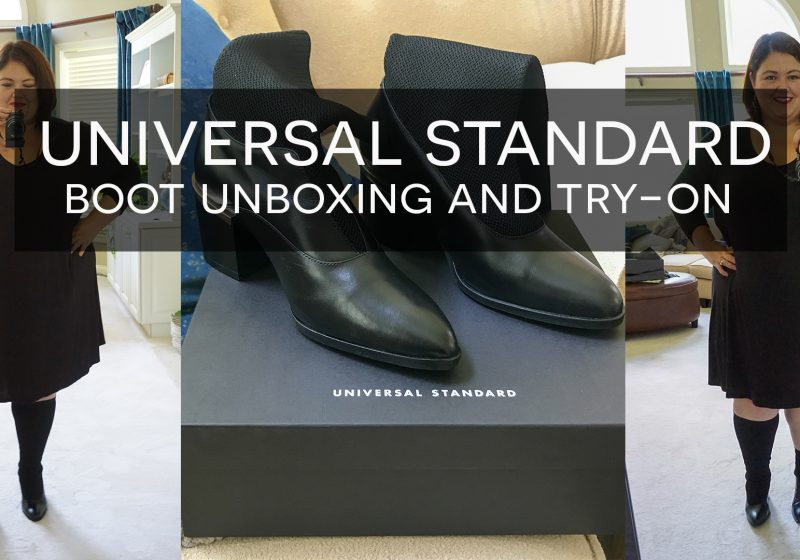 Universal Standard Boots Unboxing Video – Wide Calf