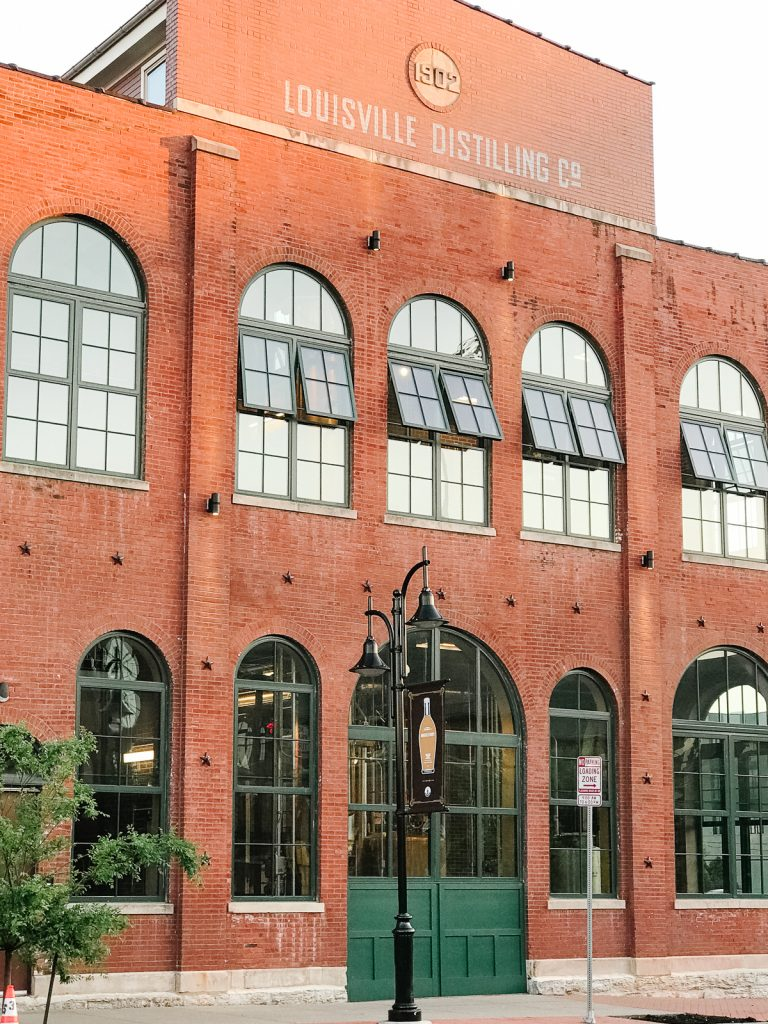Angel's Envy distillery in downtown Louisville, Kentucky.