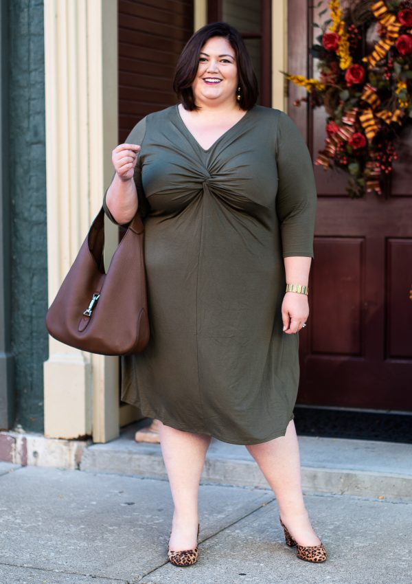 Fall Outfit Idea: Olive Love