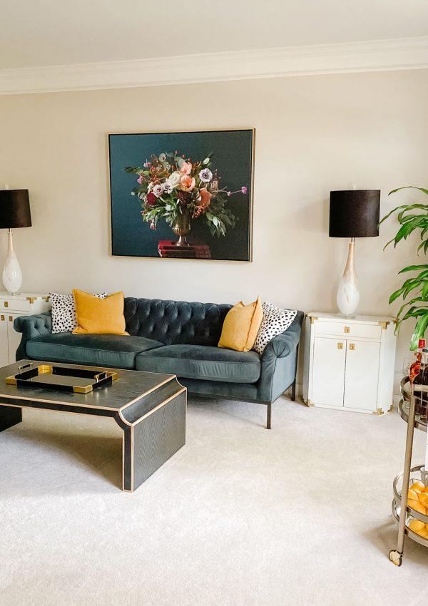 Formal Living Room Reveal