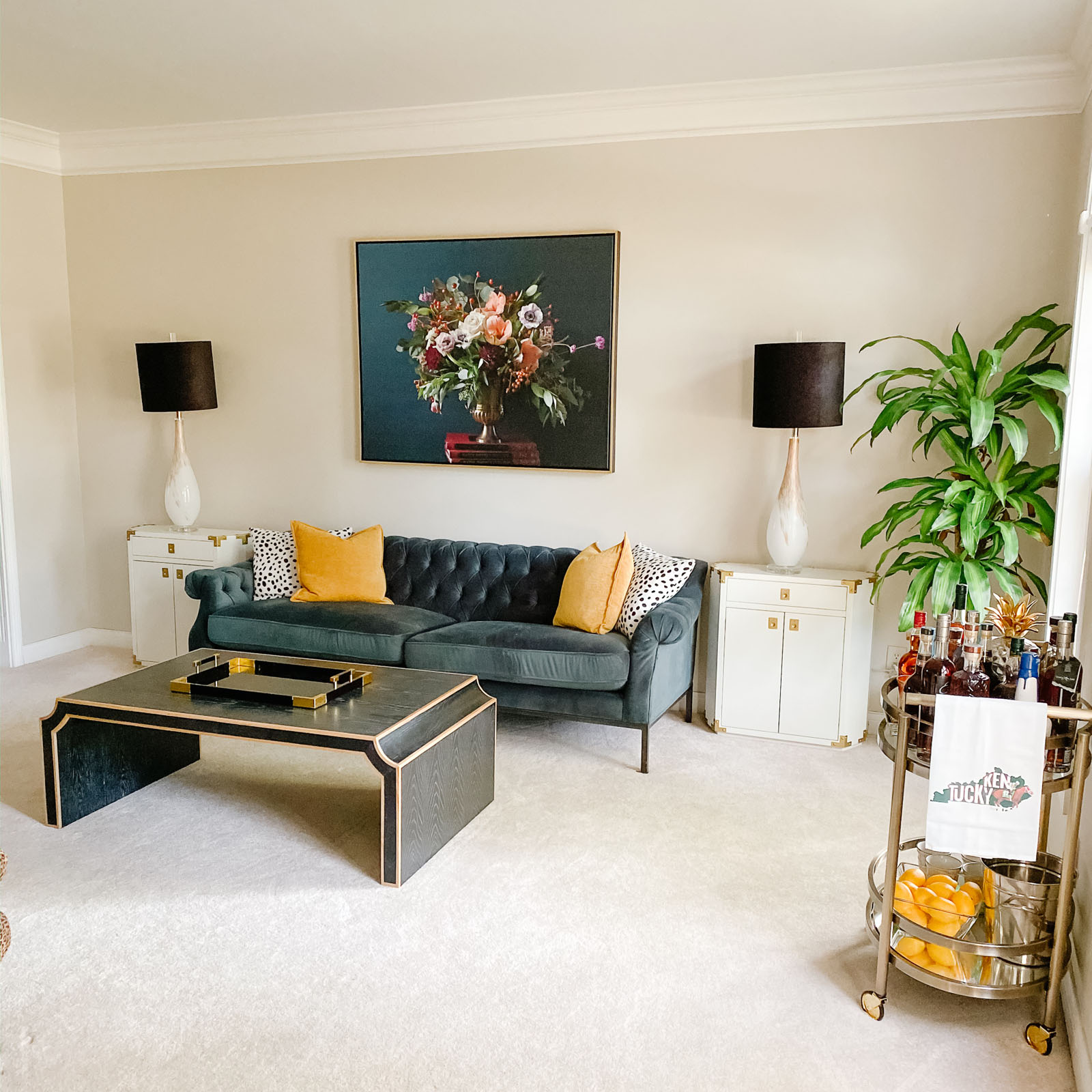 Formal living room reveal - What to do with a formal living room ...