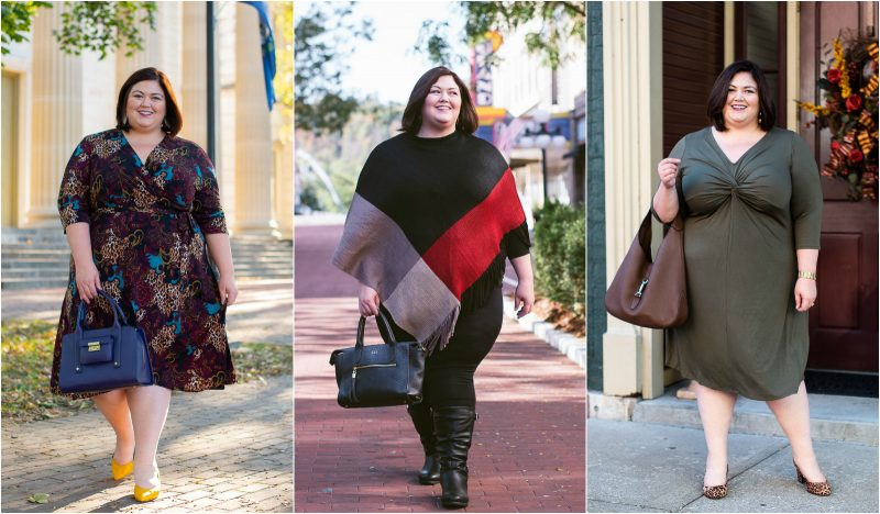 Plus size outfit ideas for fall