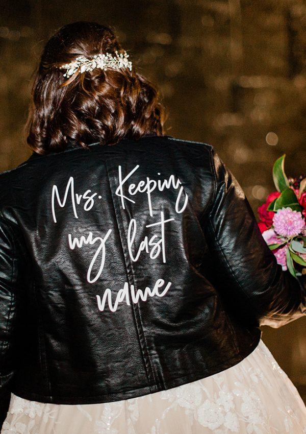 DIY: Custom Wedding Jacket
