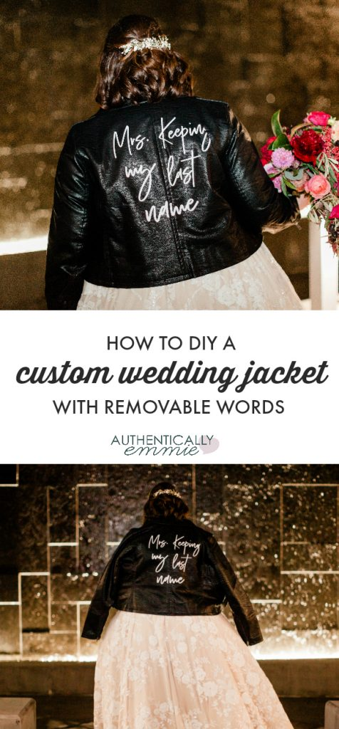 How to design your own custom wedding jacket