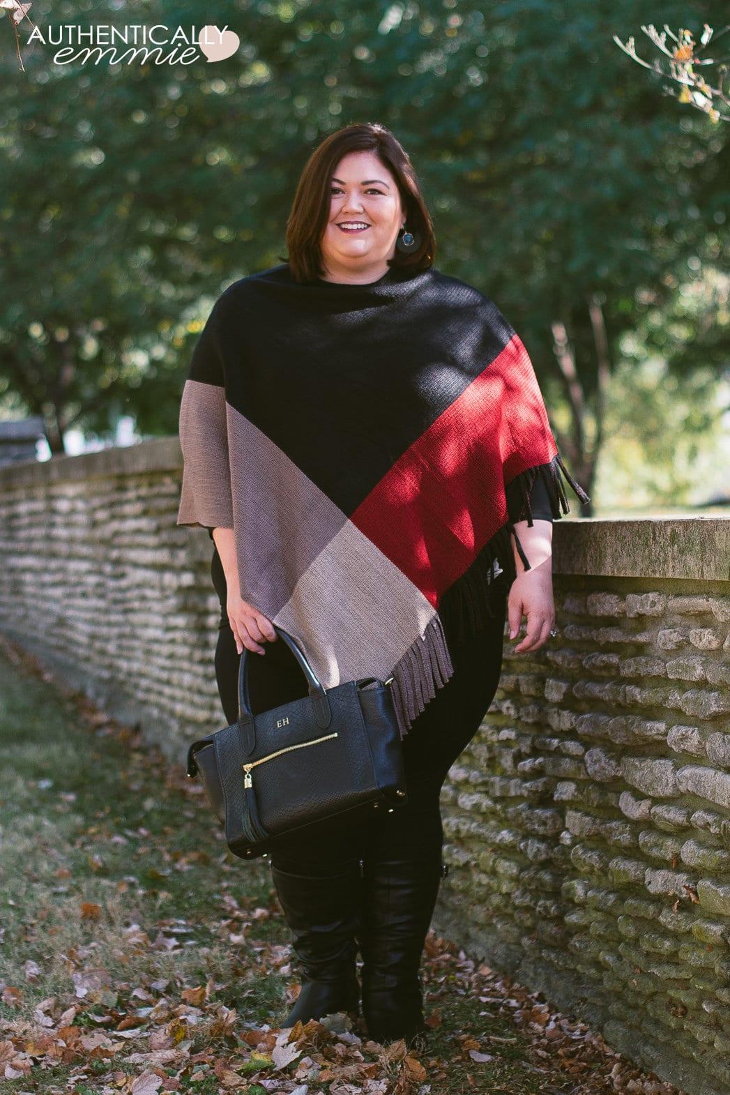 Festive Fall Outfit Idea + Wide Calf Boots
