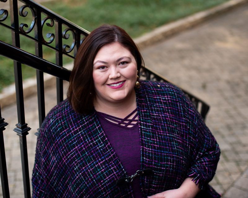 Louisville plus size fashion influencer Authentically Emmie