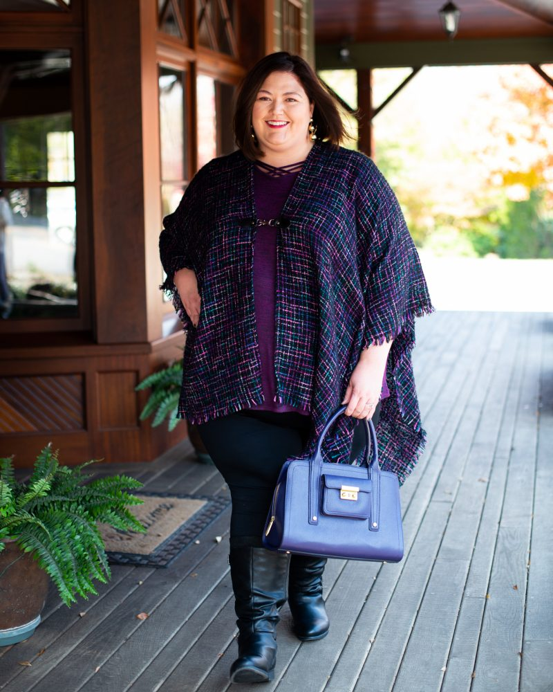 An upscale casual fall outfit idea from Catherines